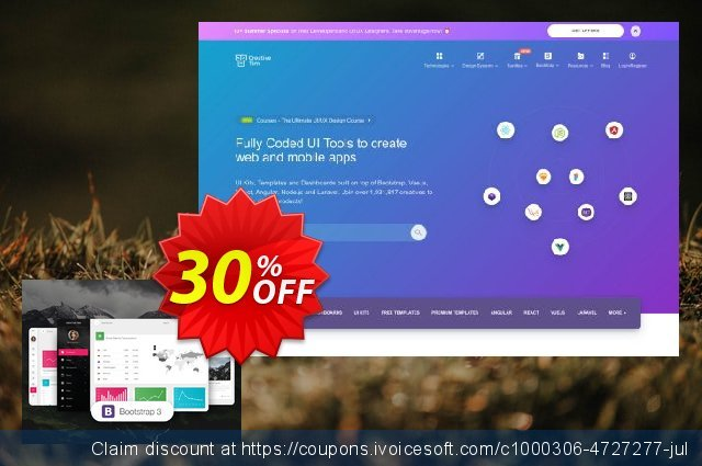 Material Dashboard Pro BS3 discount 30% OFF, 2019 Back to School promotion offering sales