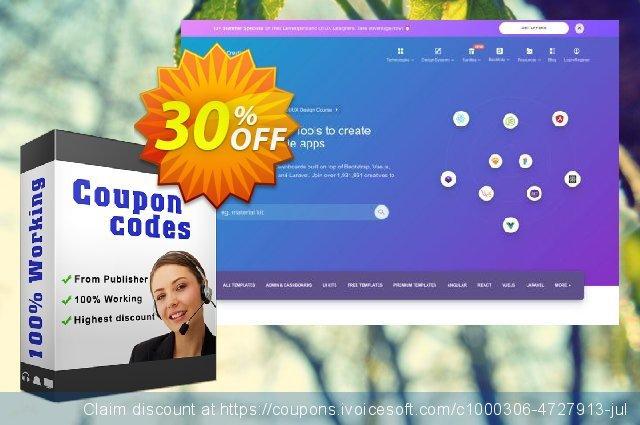 Material Dashboard PRO React discount 30% OFF, 2020 Summer deals