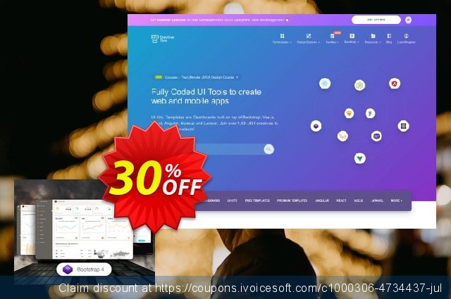 Paper Dashboard 2 PRO discount 30% OFF, 2020 Happy New Year offer