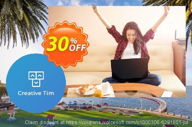 Creative-tim Summer Bundle Exclusive discount 30% OFF, 2020 Black Friday discount
