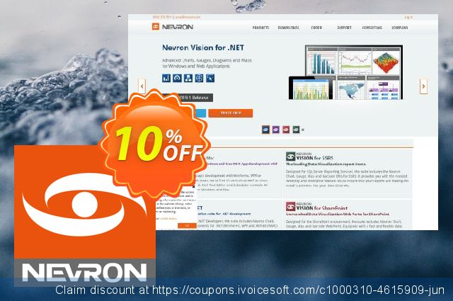 Nevron Vision for .NET Pro. + Subscription 可怕的 产品销售 软件截图