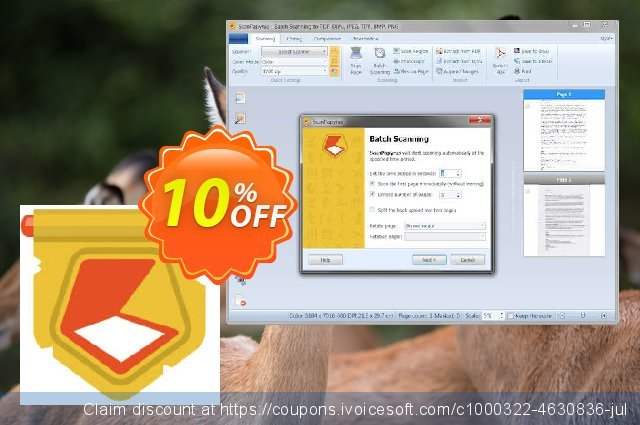 ScanPapyrus Home License discount 10% OFF, 2019 Halloween offering sales