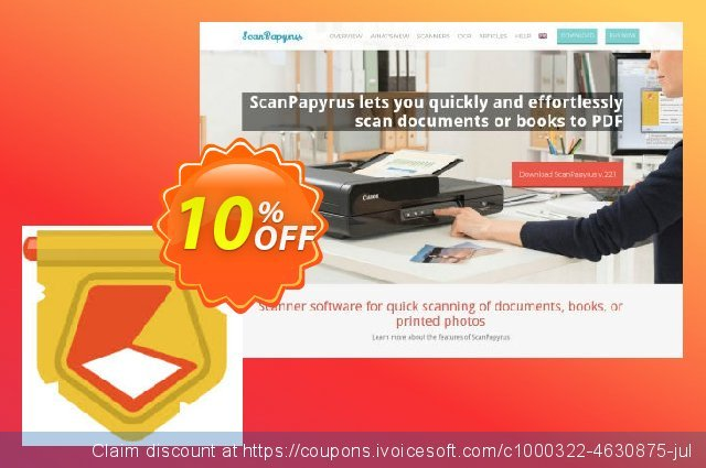 ScanPapyrus Premium License discount 10% OFF, 2020 American Independence Day promo