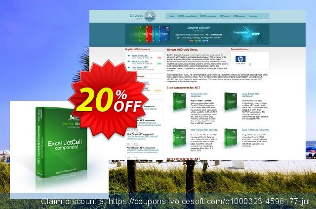 Excel Jetcell .NET - Site License discount 20% OFF, 2019 Halloween promo