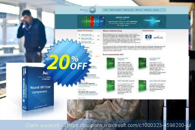 Word Writer .NET - 4 Developer License discount 20% OFF, 2020 Exclusive Teacher discount offering sales