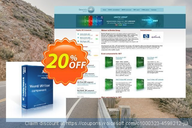 Word Writer .NET - Developer License discount 20% OFF, 2020 Back-to-School promotions discount