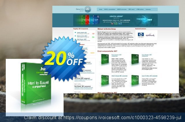 Html To Excel .NET - High-priority Support discount 20% OFF, 2020 American Heart Month offering sales