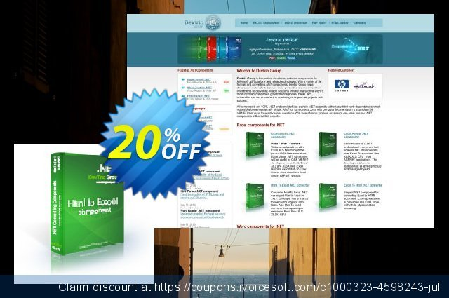Html To Excel .NET - Update discount 20% OFF, 2020 Happy New Year promo