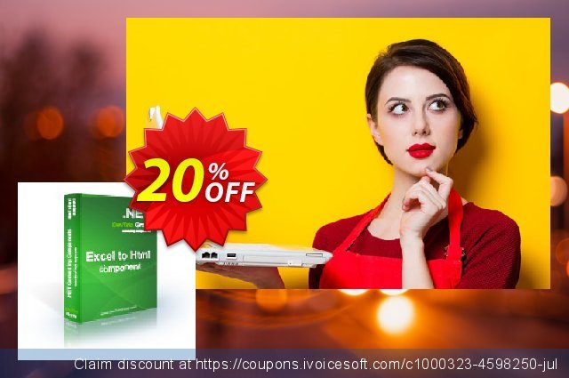 Excel To Html .NET - Source Code License discount 20% OFF, 2020 American Independence Day offer