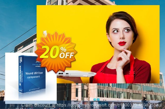 Word Writer .NET - Site License discount 20% OFF, 2020 Teddy Day sales