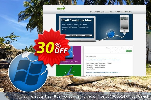 PodPhone to PC discount 30% OFF, 2020 Halloween offering sales