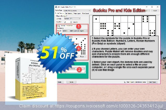 Puzzle Maker Sudoku Pro discount 10% OFF, 2019 Halloween offering sales