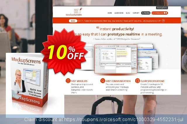 MockupScreens Team License discount 10% OFF, 2021 New Year offering sales