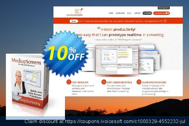MockupScreens Corporate License discount 10% OFF, 2021 New Year's Day offering sales