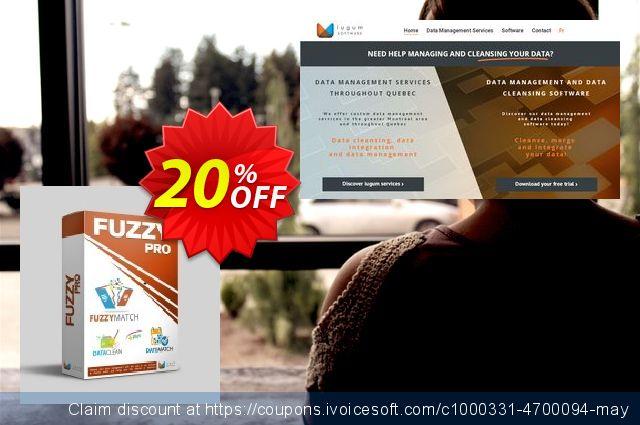 FuzzyMatch + DataClean + DateMatch - 1-year subscription discount 20% OFF, 2019 Halloween offering sales