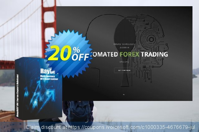 RayBOT EA Lifetime License discount 20% OFF, 2020 Halloween offering sales