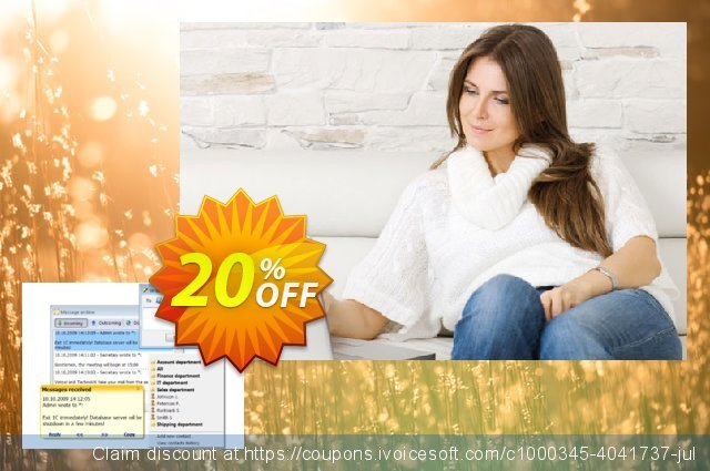 Winsent Messenger (Limited site license) discount 20% OFF, 2020 College Student deals promo sales