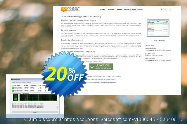 PPPoE Monitor (Personal license) discount 20% OFF, 2020 University Student offer offering sales
