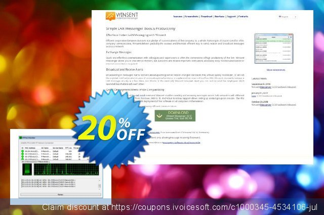 PPPoE Monitor (Commercial license) discount 20% OFF, 2020 Happy New Year discount