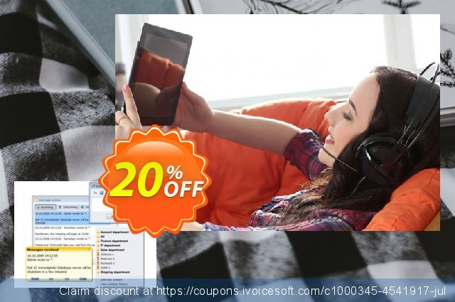 Winsent Messenger (Worldwide license) discount 20% OFF, 2020 College Student deals offering sales
