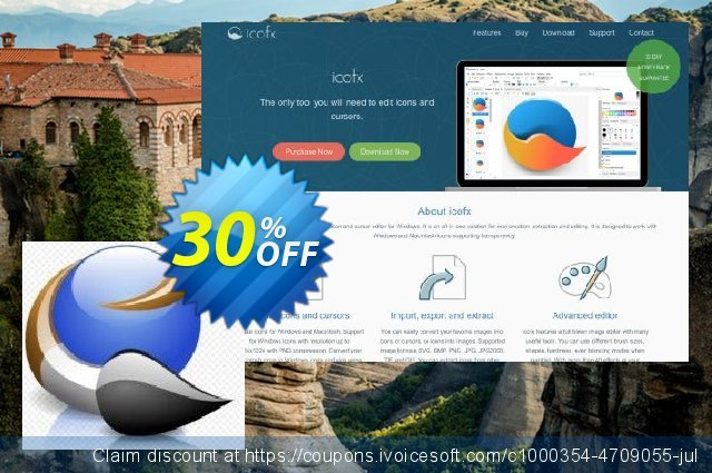 IcoFX (Home License) discount 30% OFF, 2020 Black Friday offering sales