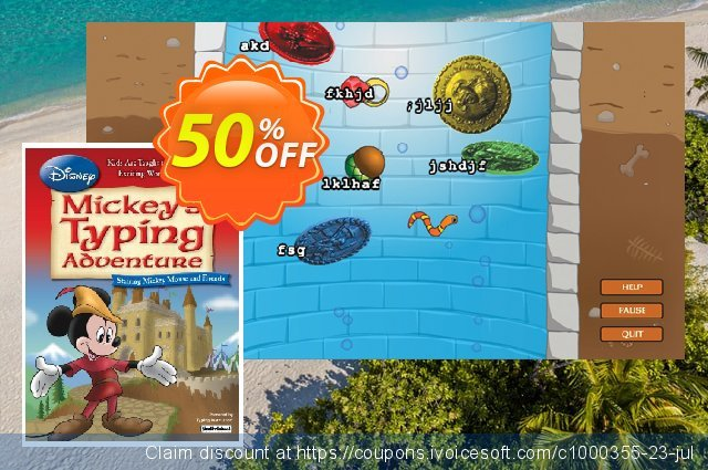 Disney: Mickey's Typing Adventure - International Version US Keyboard discount 30% OFF, 2021 Spring offering sales
