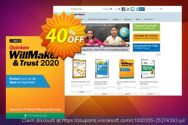 Quicken WillMaker Plus 2020 discount 40% OFF, 2020 4th of July discounts