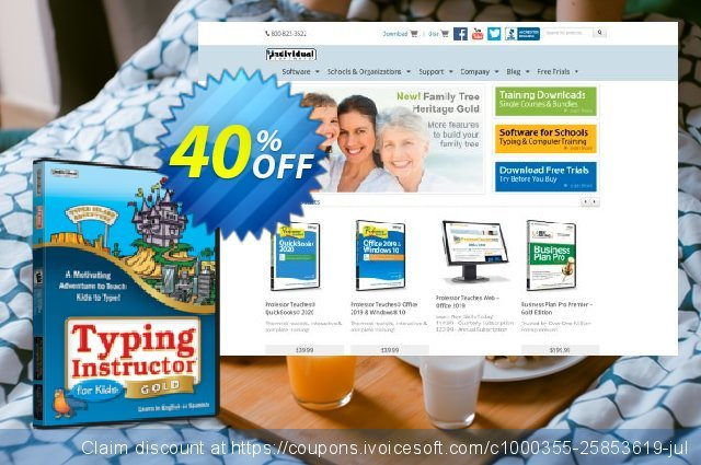 Typing Instructor for Kids Gold discount 40% OFF, 2020 Back to School season offering sales