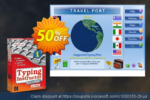 Typing Instructor Platinum - International Version US Keyboard discount 30% OFF, 2020 Thanksgiving Day offering sales