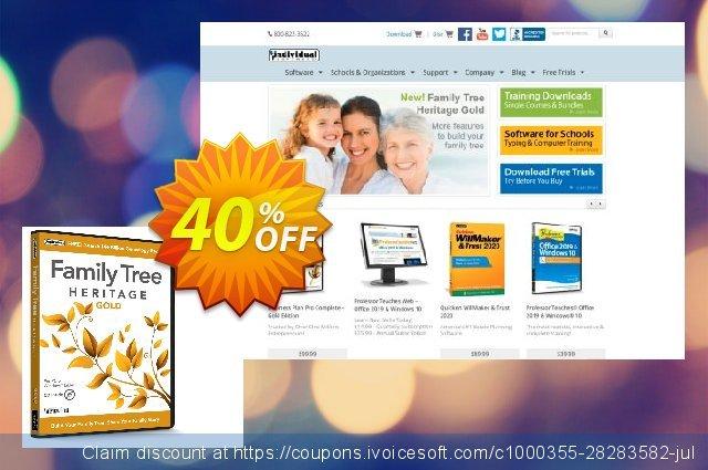 Family Tree Heritage Gold 惊人 产品销售 软件截图