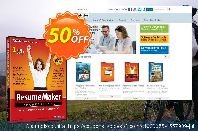 ResumeMaker Professional Deluxe discount 40% OFF, 2021 Easter day sales