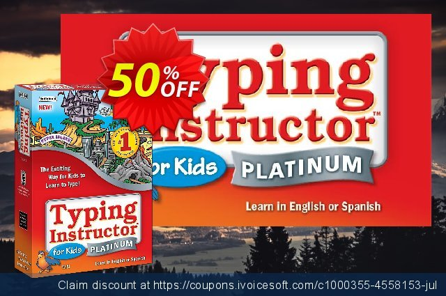 Typing Instructor for Kids Platinum discount 30% OFF, 2020 Halloween discount