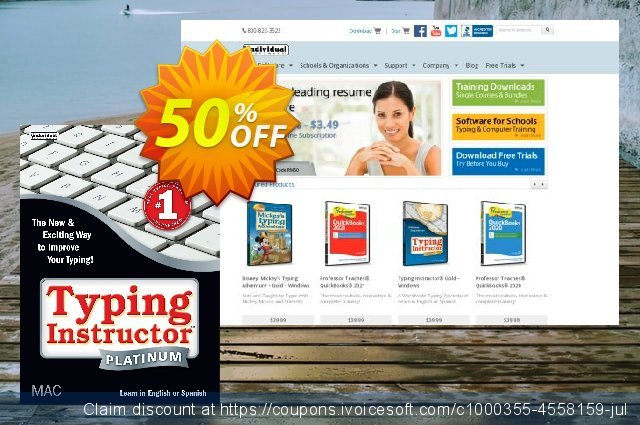 Typing Instructor Platinum - Mac discount 10% OFF, 2020 Kiss Day deals