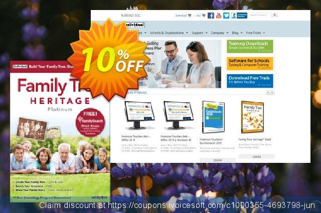 Family Tree Heritage Platinum 9 可怕的 折扣码 软件截图
