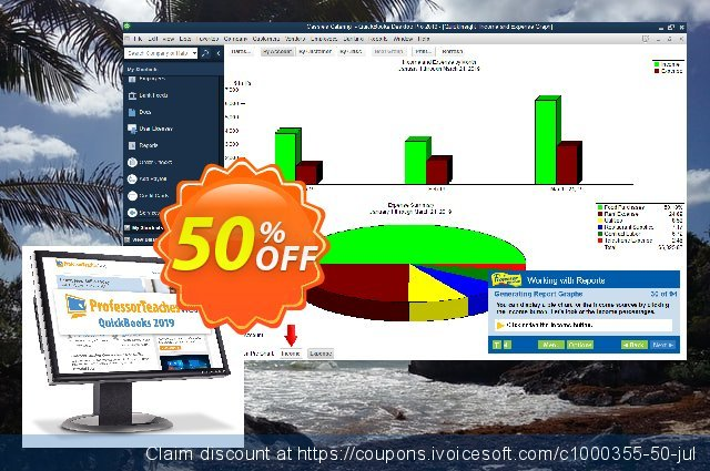 Professor Teaches Web QuickBooks (Annual Subscription) discount 40% OFF, 2021 Immigrants Day promo sales. 30% OFF Professor Teaches Web QuickBooks 2021 (Annual Subscription), verified
