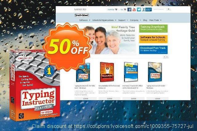 Typing Instructor Platinum 21 Upgrade discount 40% OFF, 2021 Immigrants Day offering sales. 40% OFF Typing Instructor Platinum 21 Upgrade, verified