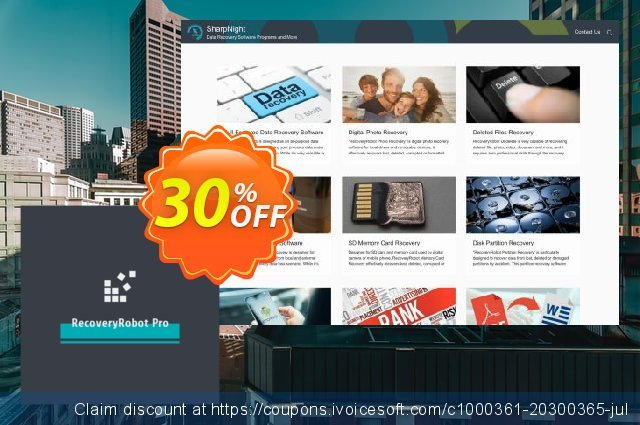RecoveryRobot Pro [Business] discount 30% OFF, 2019 Back to School offer offering sales