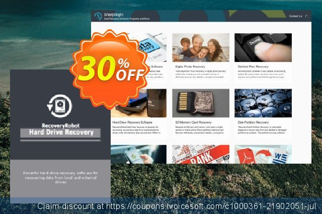 RecoveryRobot Hard Drive Recovery [Business] discount 30% OFF, 2019 Back to School promo offering sales