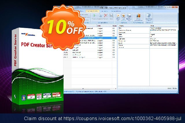 Perfect PDF Creator Server discount 10% OFF, 2021 Mother Day deals. PDF Creator Server awful promotions code 2021