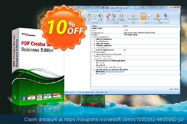 PDF Creator Server Business Edition discount 10% OFF, 2020 Happy New Year deals