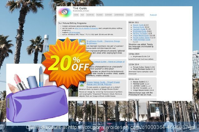 Beauty Guide discount 20% OFF, 2021 New Year's Day offering sales