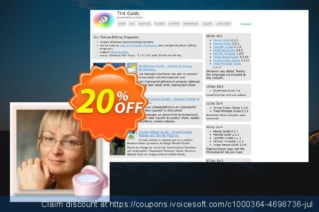 Cosmetic Guide discount 20% OFF, 2021 Happy New Year discounts