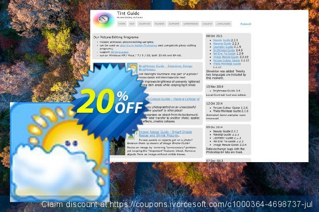 Brightness Guide discount 20% OFF, 2021 January promotions