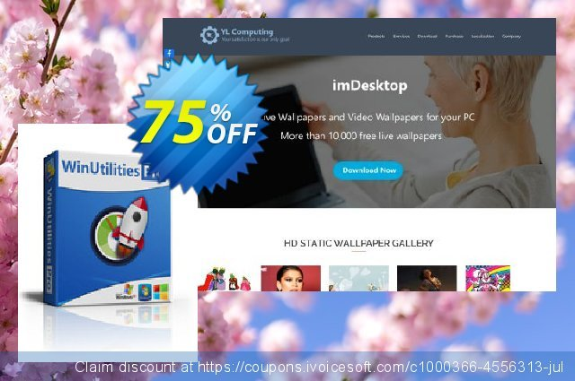 WinUtilities Pro discount 75% OFF, 2020 New Year offering sales