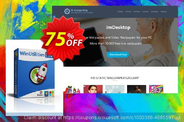 WinUtilities Pro discount 75% OFF, 2019 Halloween offering sales