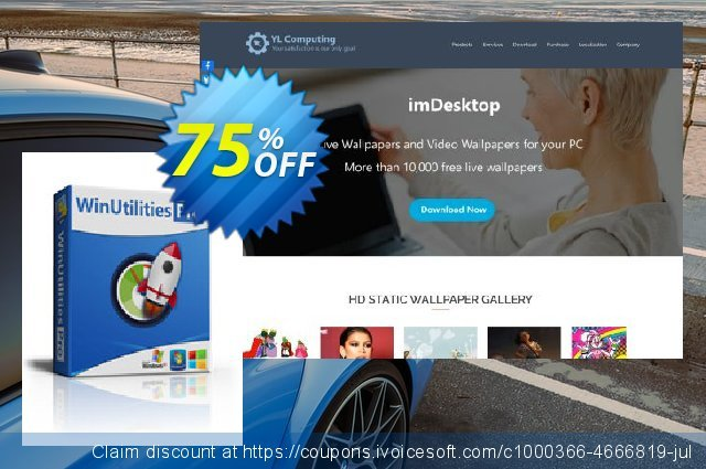 WinUtilities Pro (1 Year / 1 PC) discount 75% OFF, 2020 July 4th promotions