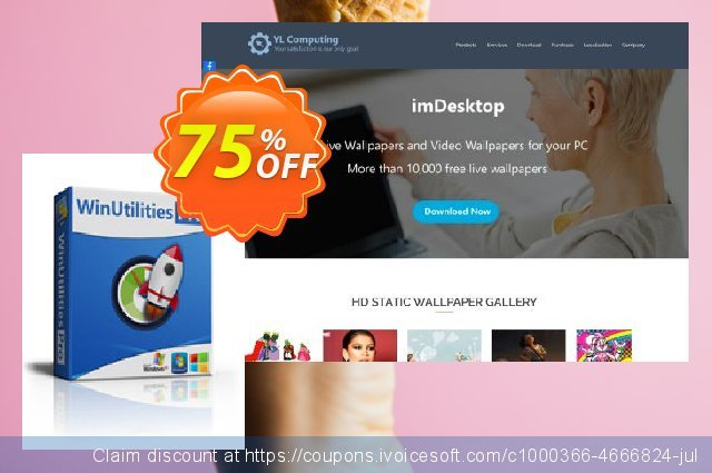 WinUtilities Pro (Lifetime / 5 PCs) discount 75% OFF, 2020 College Student deals offering sales