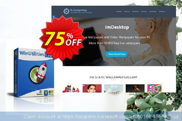 WinUtilities Pro (Lifetime / Unlimited PCs) discount 75% OFF, 2021 January promotions