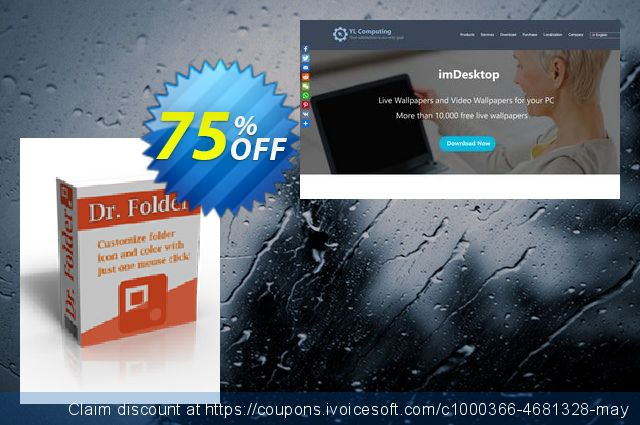 Dr. Folder (Lifetime/3 PCs) discount 75% OFF, 2020 Happy New Year offering sales