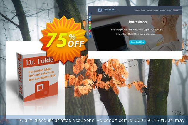 Dr. Folder (1 Year/Unlimited PCs) discount 75% OFF, 2020 College Student deals sales